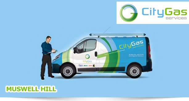 Heating Gas Services Contractor in Muswell Hill, UK