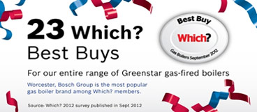 Worcester Bosch Greenstar Gas Fired Boilers